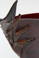 """Flicker Vase"" piece detail"