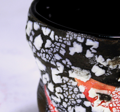 """Crawling black vase"" detail piece"